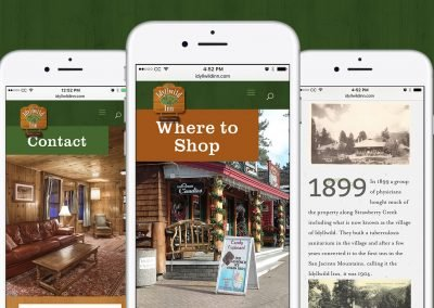 Idyllwild Inn Mobile Design